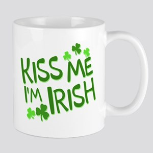 kiss me i'm irish Mugs